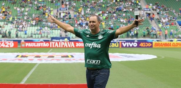 Evair era titular do Palmeiras no último título brasileiro do clube