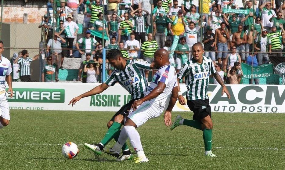 Prudentópolis e Coritiba ficaram no 0 a 0 em jogo pelo Campeonato Paranaense 2015
