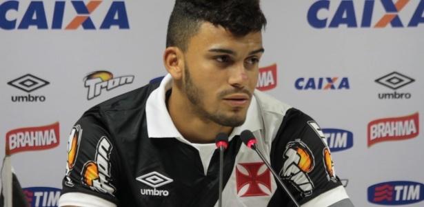 Pelo Vasco, o atacante Mosquito disputou apenas duas partidas em 2015