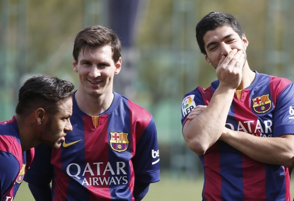 Luis Suárez tem apresentado desempenho melhor nas últimas partidas pelo Barcelona