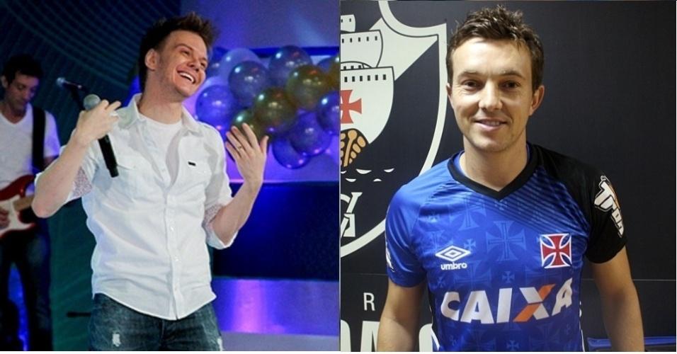 Dagoberto foi comparado ao cantor sertanejo Michel Teló nos clubes que defendeu