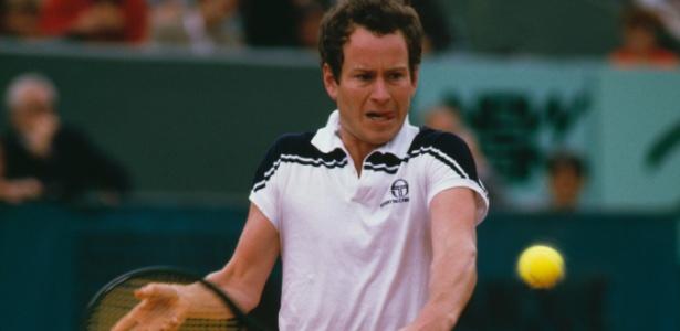 John McEnroe soma sete títulos de Grand Slam, entre 1979 e 1984 - Steve Powell/Getty Images