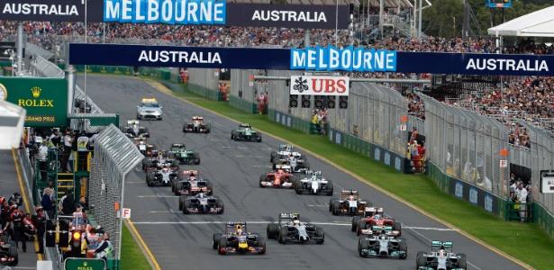 Temporada começa neste fim de semana, em Melbourne, na Austrália - ERIC VARGIOLU / FRAME