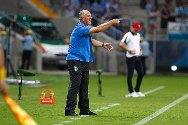 07 mar 2015 - Felipão comanda o Grêmio contra o Caxias na Arena