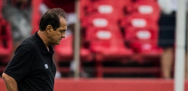 Muricy Ramalho durante jogo do São Paulo no Morumbi - Eduardo Anizelli / Folhapress