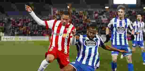 Sidnei atuando pelo La Coruña  - EFE / Carlos Barba - EFE / Carlos Barba