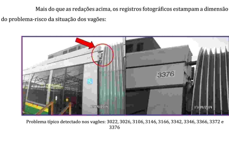 Vagões deterioram em depósito da empresa espanhola CAF. Equipamento entrará em uso, no mínimo, daqui a dois anos  - CGE-MT