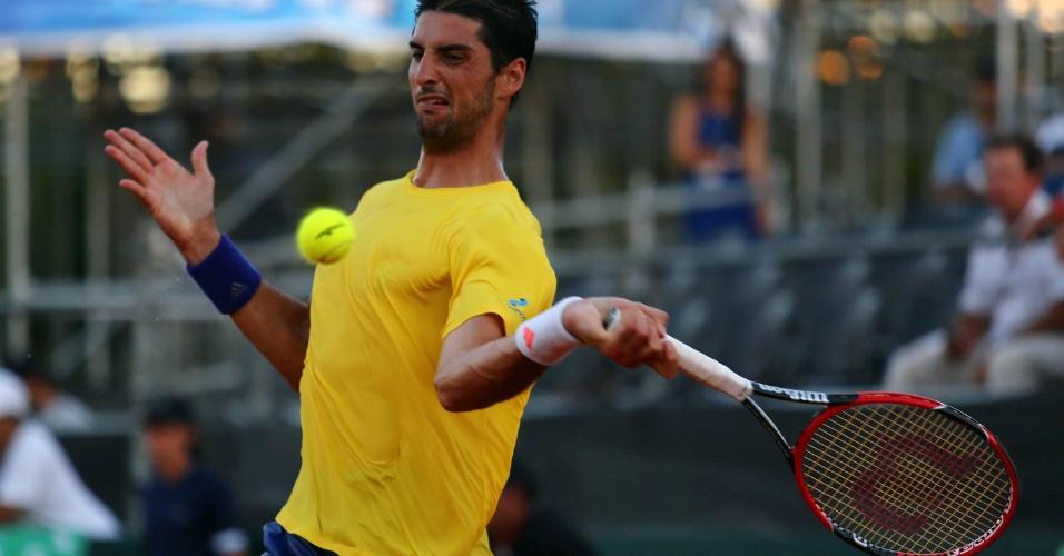 Tenis brasileiro vem de uma sequência de cinco derrotas seguidas