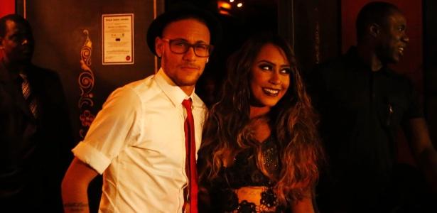 Neymar na festa de aniversário da irmã dele, no ano passado