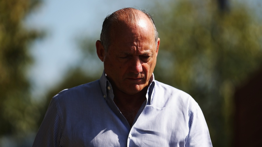 CEO da McLaren, Ron Dennis, no GP da Austrália de 2014 - Robert Cianflone/Getty Images