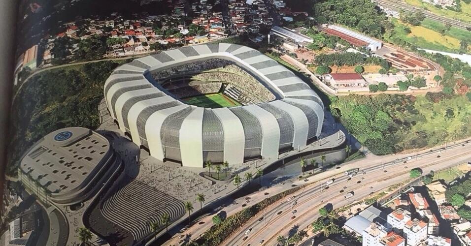 Livro de arquitetura fala sobre o projeto de estádio do Atlético-MG