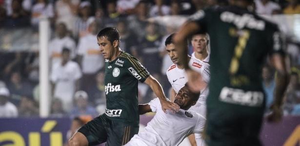 Robinho defende o Palmeiras desde o começo da temporada passada - Ricardo Nogueira/Folhapress