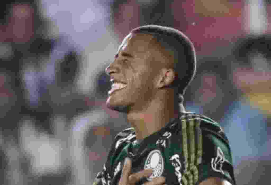 Victor Hugo comemora gol do Palmeiras contra o Santos pelo Campeonato Paulista - Ricardo Nogueira/Folhapress