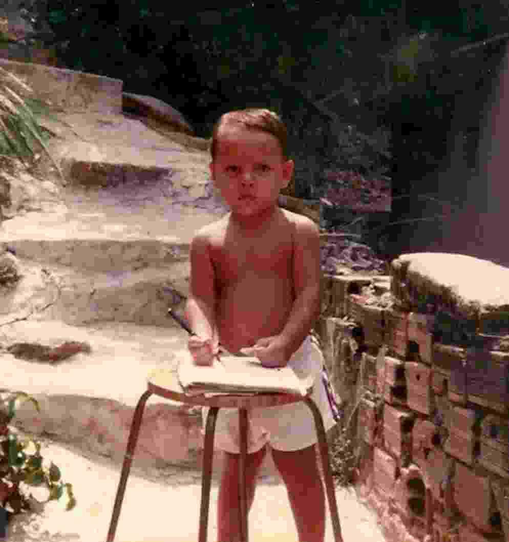 Criado em Niterói (RJ), Rafael dos Anjos nasceu em 1984, e sempre foi um garoto cheio de energia. - Arquivo Pessoal