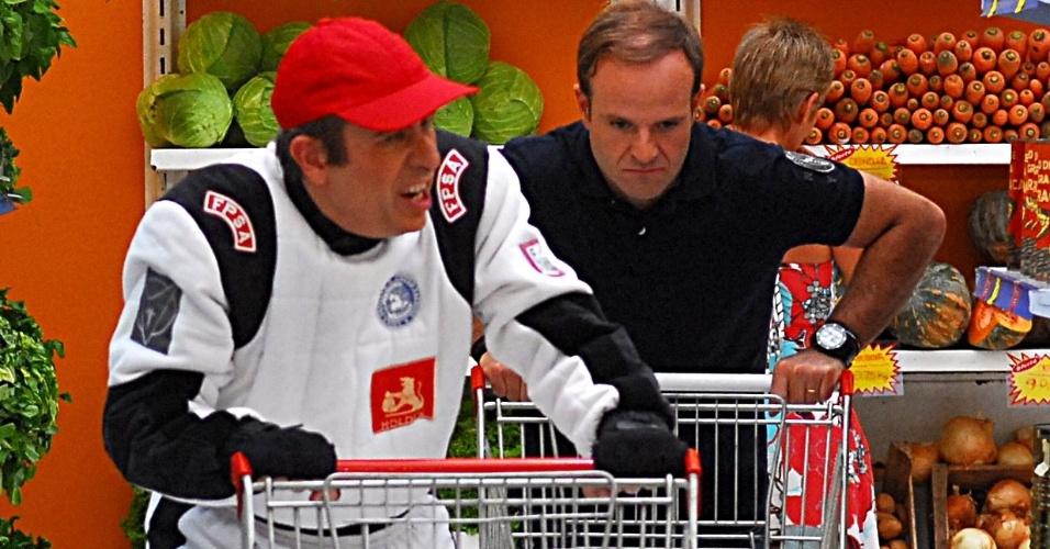 Barrichello participa de quadro do