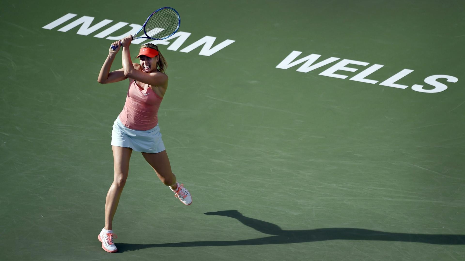 Sharapova vence a belga Yanina Wickmayer na segunda rodada de Indian Wells