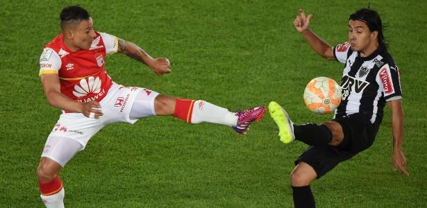 Cárdenas defendeu as cores do Atlético-MG em 2015