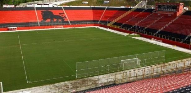 Barradão foi eleito um dos piores estádios da Série A por projeto do Ministério do Esporte
