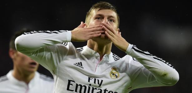 Toni Kroos está na mira do Manchester City para próxima temporada