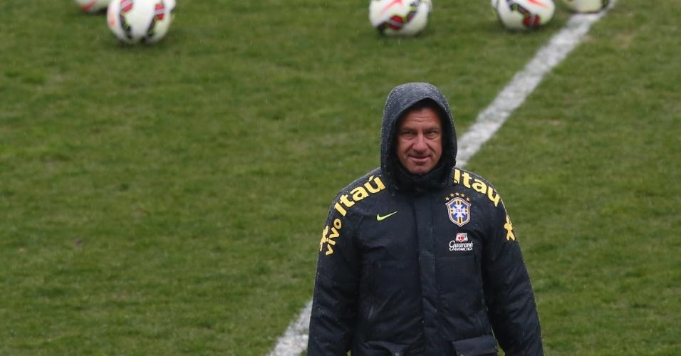 Dunga não confirmou se escalará Firmino entre os titulares para o amistoso contra a França