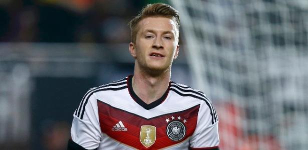 Marco Reus perdeu mais uma competição pela seleção alemã - RALPH ORLOWSKI/REUTERS