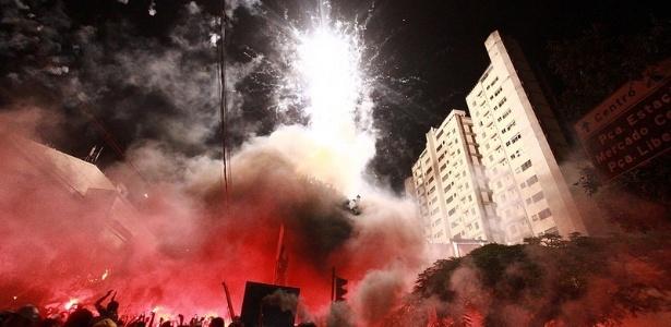 Após festa na rua, Atlético-MG quer festejar aniversário com vaga na final
