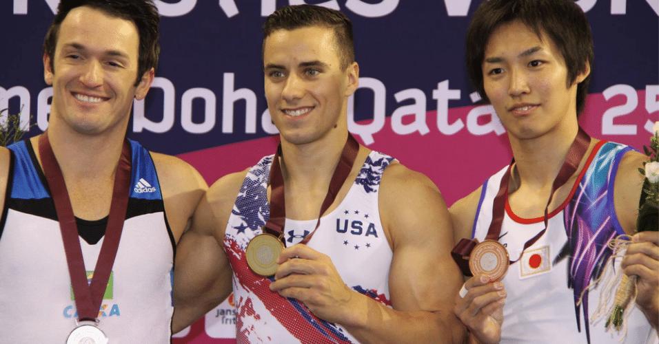 Diego Hypolito ficou com a prata em Doha