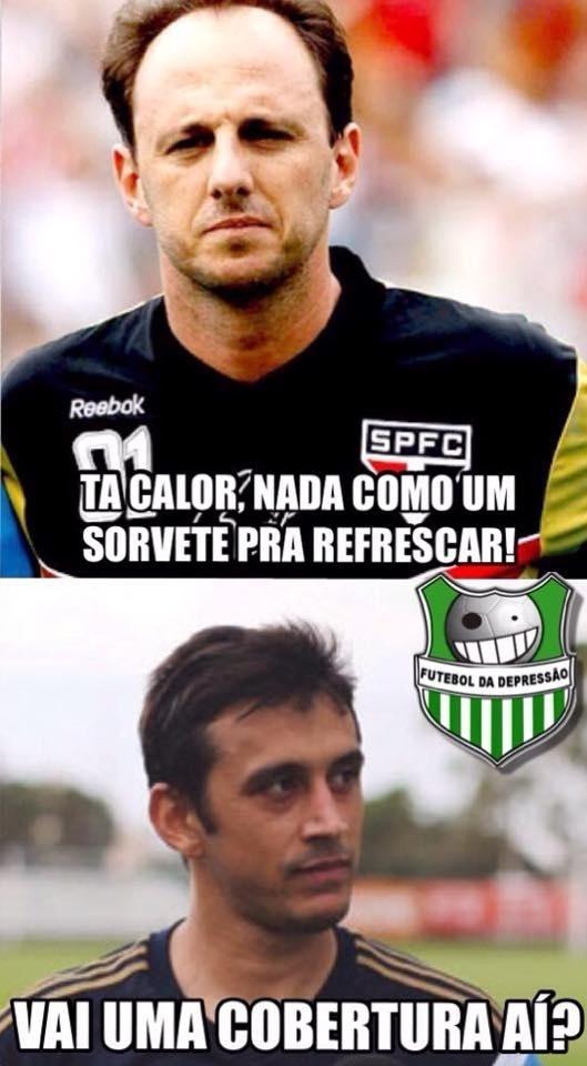 Falha de Rogério Ceni no gol de Robinho foi alvo de brincadeiras dos torcedores após o clássico