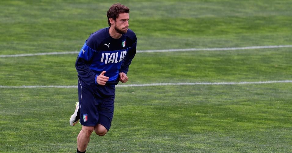 Marchisio se machucou durante treino da seleção italiana na última sexta-feira