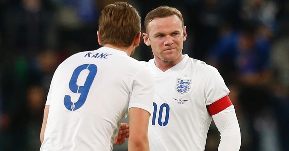 Wayne Rooney, durante amistoso entre a Inglaterra e a Itália