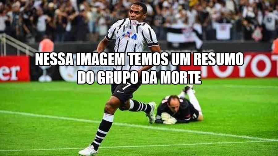 Corinthians lidera o grupo com 100% de aproveitamento, enquanto o São Paulo luta para tentar não ser eliminado na primeira fase