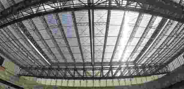 Custo das obras da Arena segue em disputa entre Prefeitura de Curitiba e Atlético - Bruno Baggio/Site Oficial do Atlético-PR