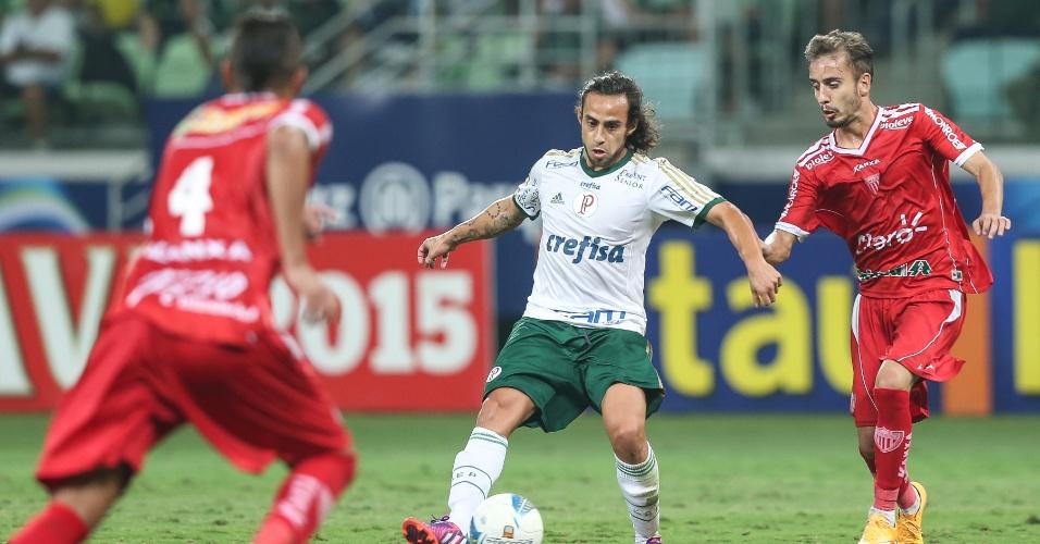 Valdívia fez seu primeiro jogo em 2015, entrando no segundo tempo contra o Mogi Mirim