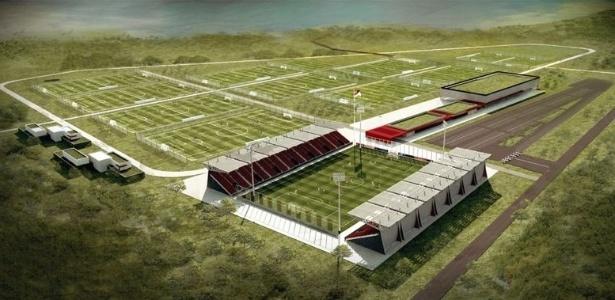 'Cidade do Inter' (foto) deve avançar, mas clube prevê reforma no Parque Gigante