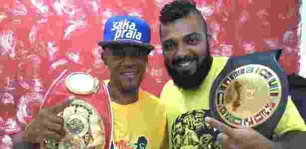 Ex-campeão de boxe reencontra filhos após 8 anos com ajuda de ... 843bb26a67277
