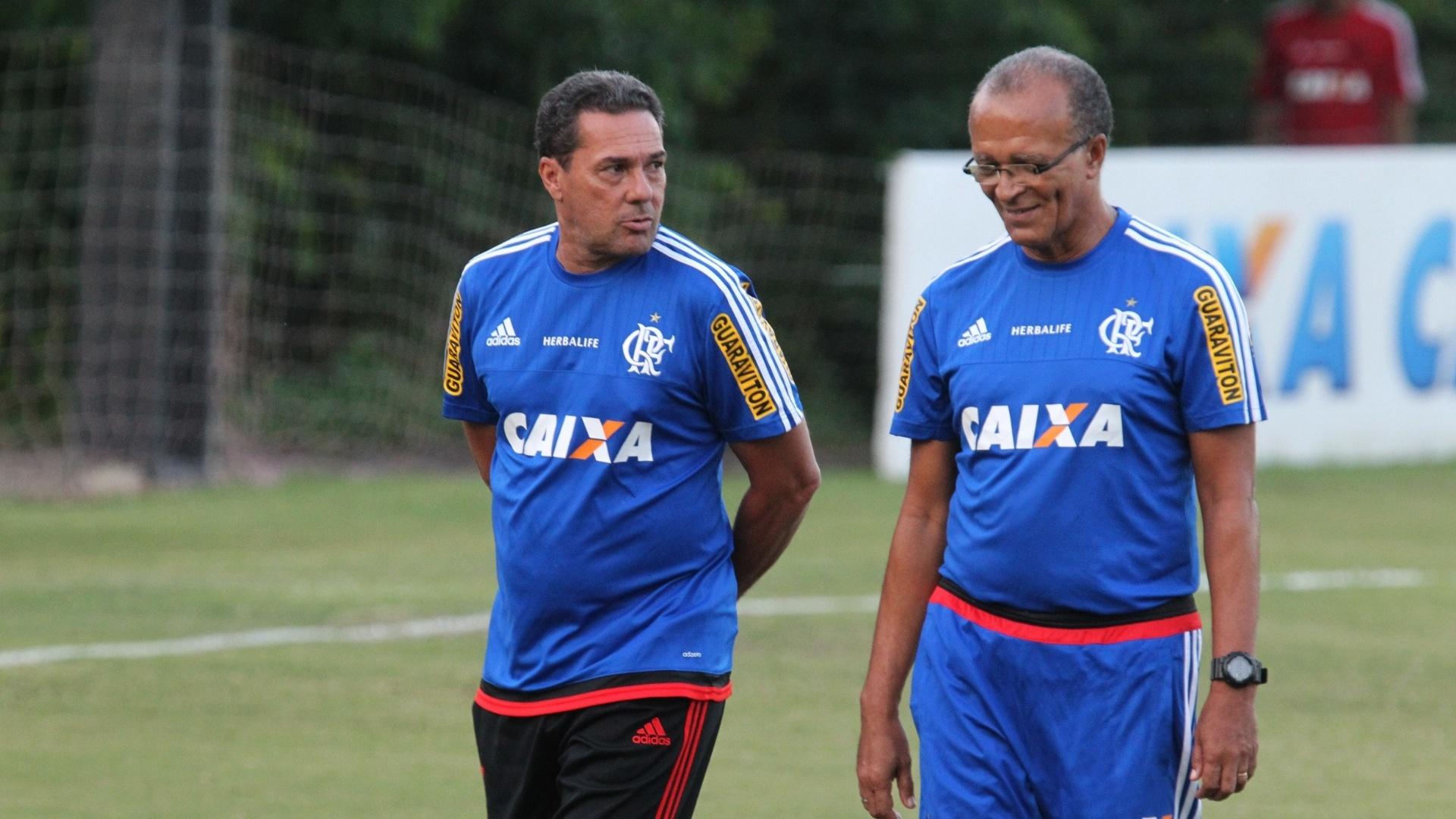 Jayme de Almeida retornou ao Flamengo para auxiliar o técnico Vanderlei Luxemburgo
