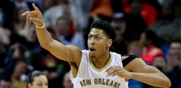 Anthony Davis foi um dos atletas dos Pelicans que sofreu com lesões nesta temporada - Derick E. Hingle-USA