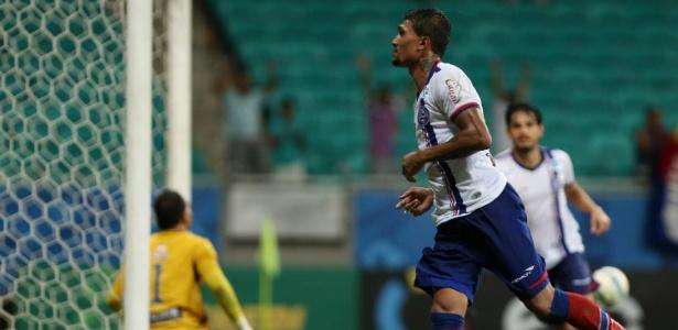 Kieza marcou 29 gols na temporada passada pelo Bahia