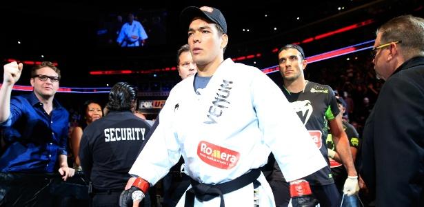 Lyoto Machida foi retirado do card do UFC Flórida, em abril - Alex Trautwig/Getty Images