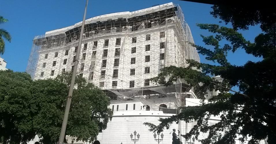 Hotel Glória, no Rio de Janeiro (abril/2015)