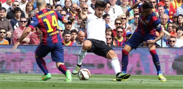 André Gomes, do Valencia, entrou na mira de grandes clubes europeus