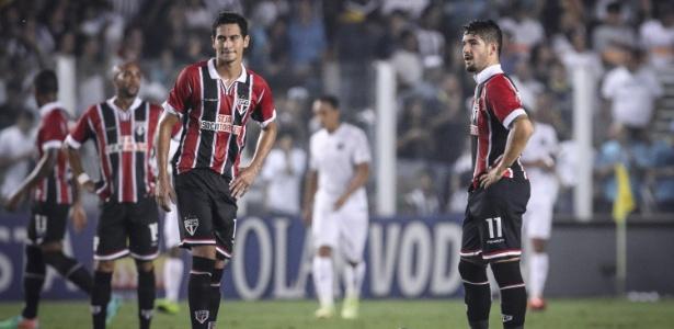São Paulo tenta classificação na Libertadores dias após eliminação no Estadual - Ricardo Nogueira/Folhapress