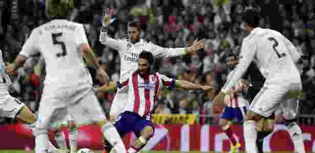 Finalistas em 2014, Real e Atlético voltam a decidir Liga dos Campeões - AFP PHOTO / GERARD JULIEN