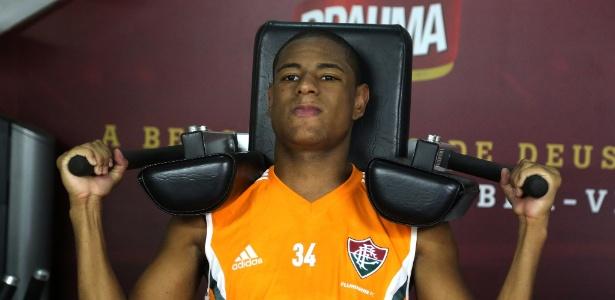 Robert jogou pelo Barcelona B por apenas 30 minutos em 2016 - Nelson Perez/Fluminense FC