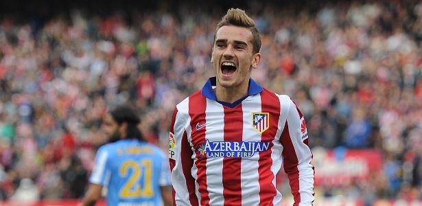 Griezzman é um dos principais jogadores do Atlético de Madri