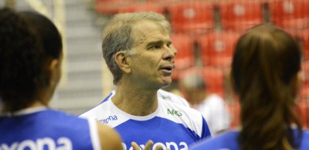 Bernardinho comanda o time do Rio de Janeiro
