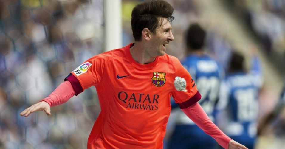 Messi faz 2x0 para o Barcelona