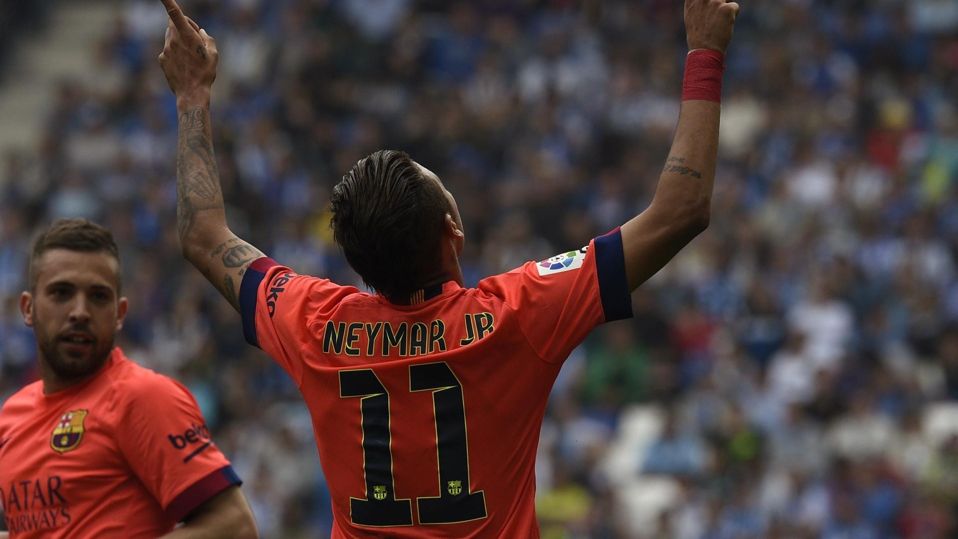 Neymar já marcou o dobro de gols de sua primeira temporada no Barcelona