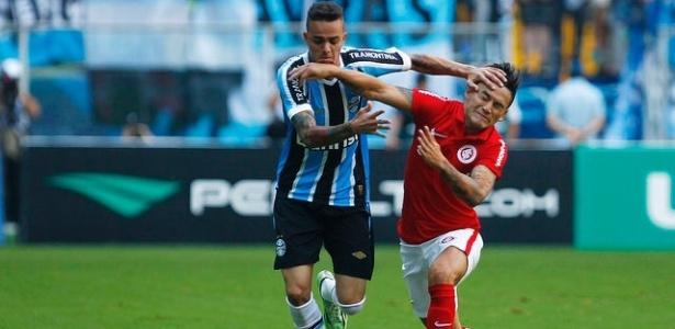 Tramontina (nas mangas) deixou a camisa de Inter e Grêmio e gerou rombo