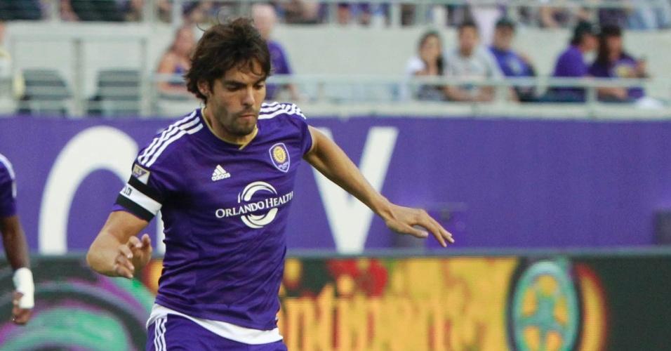 Kaká em ação durante partida entre Orlando e Toronto, válido pela MLS